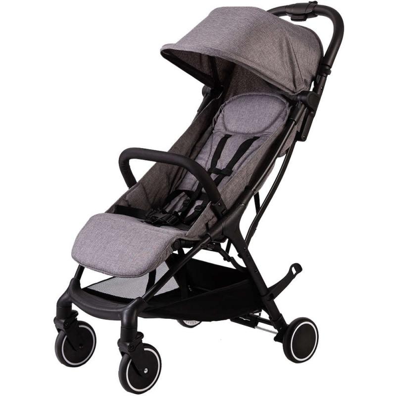 Red Kite Push Me Kwik Stroller-Grey