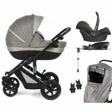 Roma Moda Cabriofix Travel System-Grey
