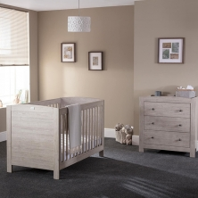 Silver Cross New England 2 Piece Room Set-Oak *Exclusive to Kiddies Kingdom*
