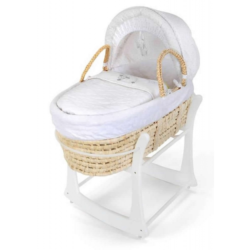 East Coast Rocking Moses Basket Stand-White