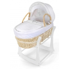 East Coast Rocking Moses Basket Stand-White