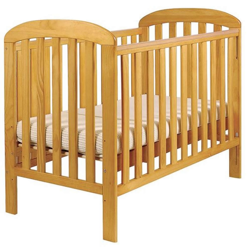 East Coast Anna Dropside Cot-Antique Pine