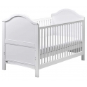 East Coast Toulouse Cot Bed-White