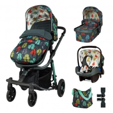 Cosatto Giggle Quad Marvellous Bundle-Harewood