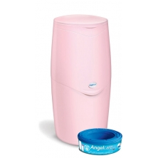 Angelcare Nappy Disposal System- Pink