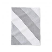 Silver Cross Unisex Patchwork Pram Blanket- Grey/Multi
