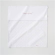 Silver Cross Girls Jersey Coverlet