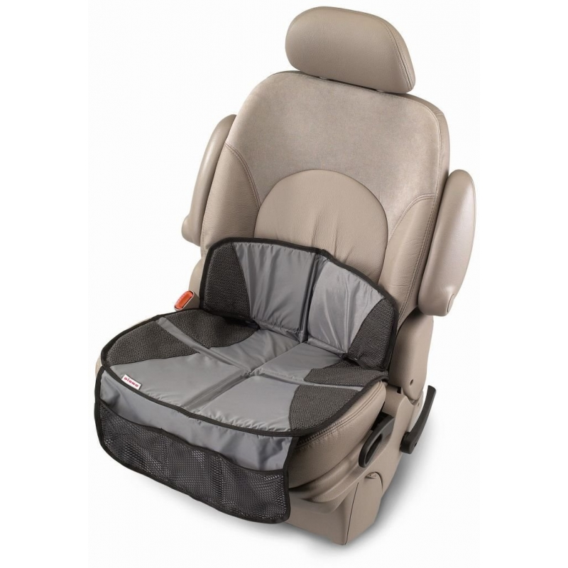 Diono Super Mat Car Seat Protector- Grey (New 2019)