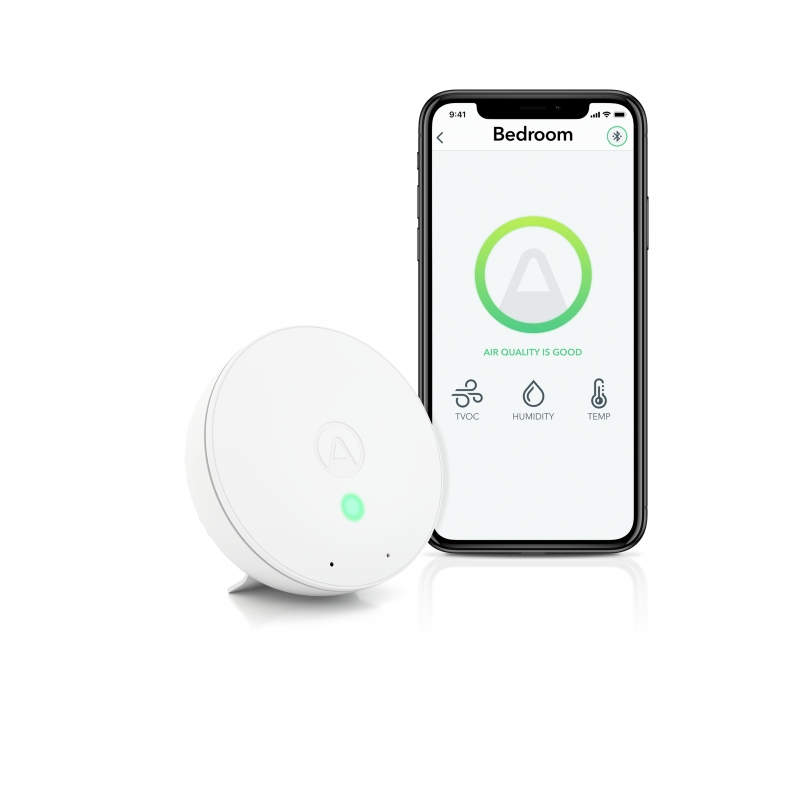 Airthings Wave Mini-Air Quality Monitor