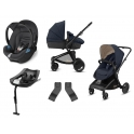 CBX Bimisi Flex 3in1 Travel System with ISOFIX Base-Comfy Grey