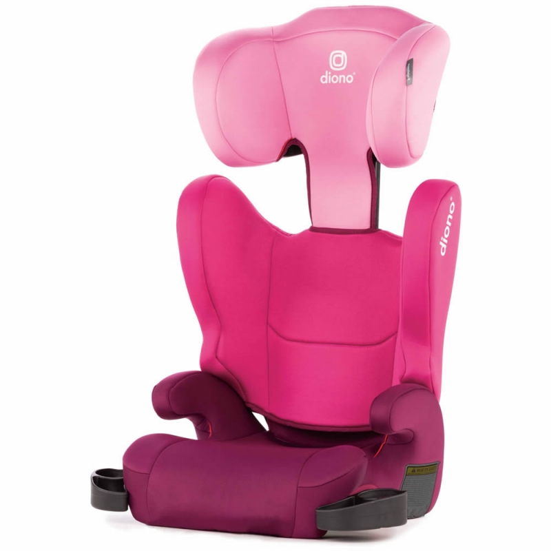 Diono Cambria 2 Group 2/3 Car Seat + FREE Stuff 'n' Scuff-Pink