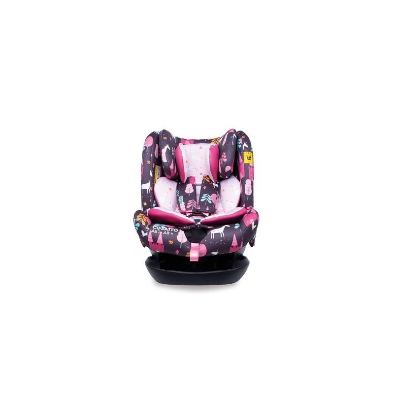 Cosatto All in All Group 0+123 Isofix Car Seat-Unicorn Land
