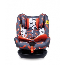 Cosatto All in All + Group 0+123 Car Seat-Charcoal Mister Fox