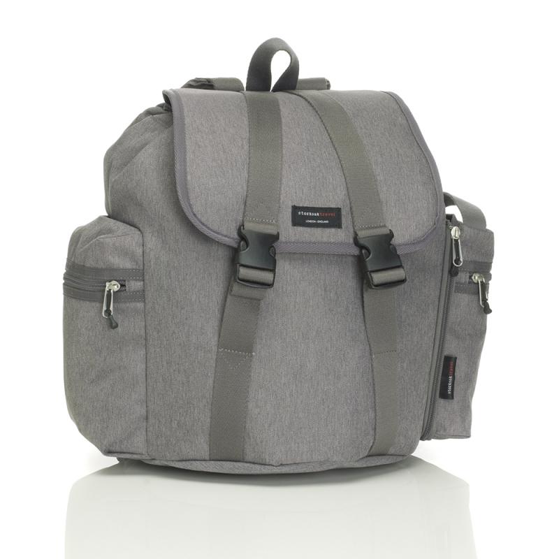 Storksak Backpack Changing Bag-Grey
