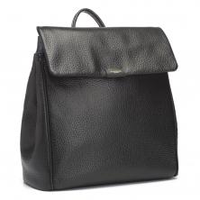 Storksak St James Leather Changing Bag-Black