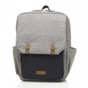 Babymel George Changing Bag-Grey/Black