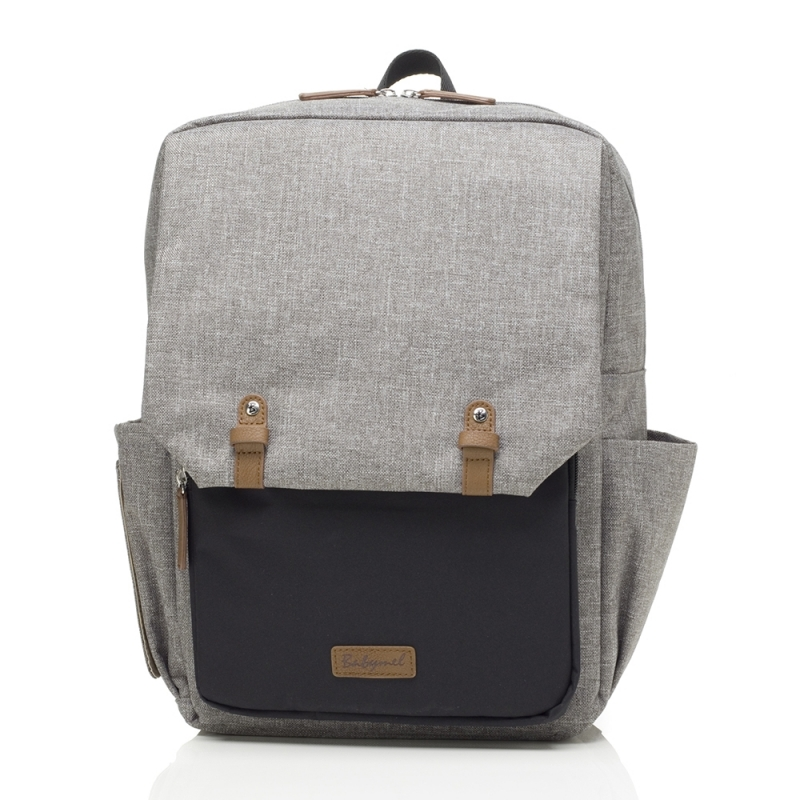 Babymel George Changing Bag - Grey/Black