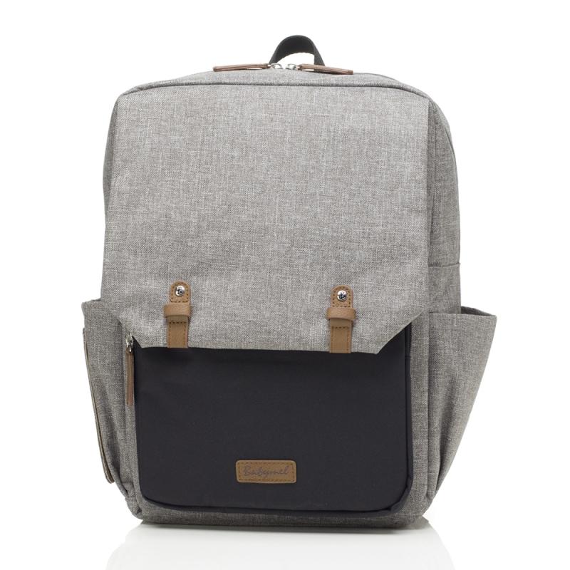 Babymel George Changing Bag-Grey/Black