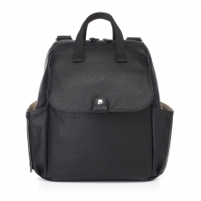 Babymel Robyn PU Changing Bag-Black