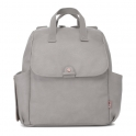 Babymel Robyn PU Changing Bag-Pale Grey