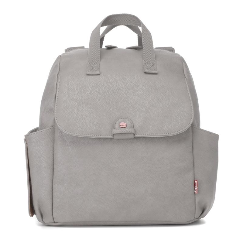 Babymel Robyn PU Changing Bag - Pale Grey