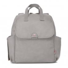 Babymel Robyn PU Changing Bag-Pale Grey