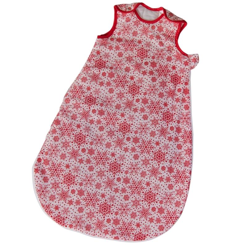 Clair De Lune- Winter Snowflake Sleeping Bag