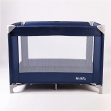 Red Kite Sleep Tight Travel Cot-Blueberry