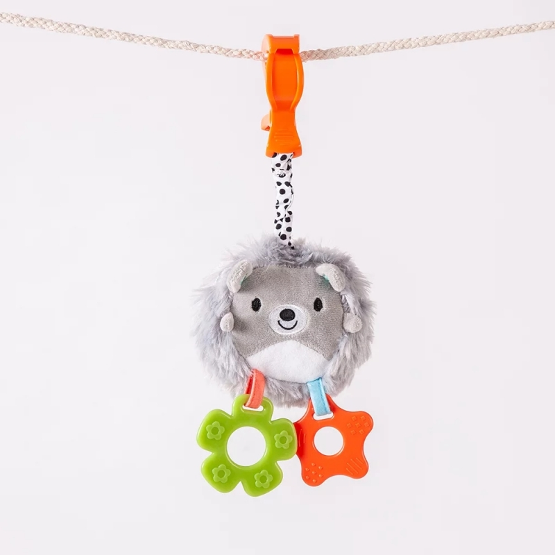 Red Kite Clip On Toy-Hedgehog