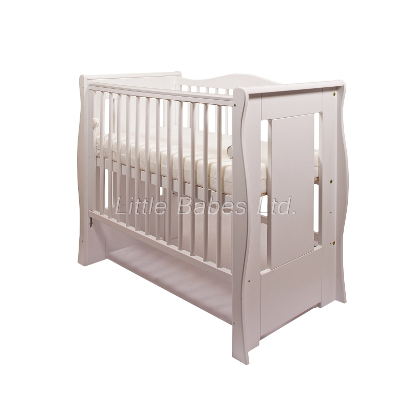 Little Babes Ltd Tia Mini Cot-White