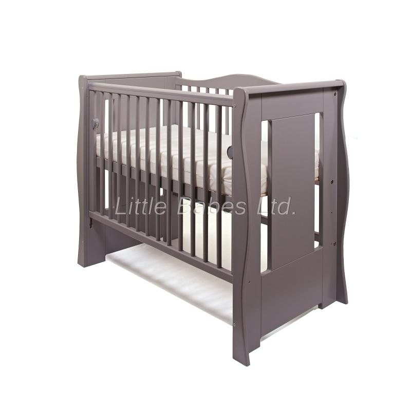 Little Babes Ltd Tia Mini Cot-Grey