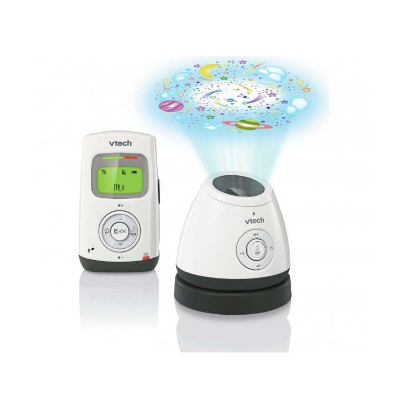 Vtech Safe & Sound Audio Monitor with LCD & Light Show- BM2200