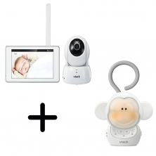 Vtech Safe & Sound Tablet Baby Monitor- BM6000 + FREE SOOTHER