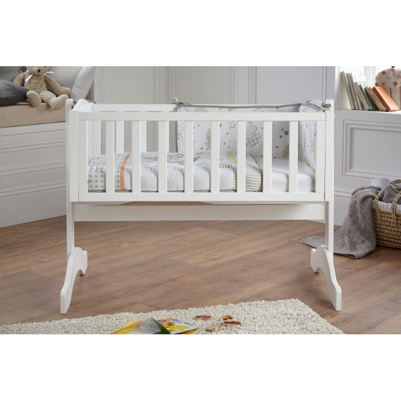 Clair De Lune Crib Quilt & Bumper Bedding Set- Sleep Tight