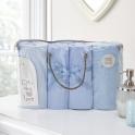 Clair De Lune 4 Piece Bale Bedding Set-Blue