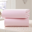 Clair De Lune 2 Pack Fitted Cotton Moses Basket Sheets-Pink