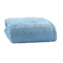 Clair De Lune Marshmallow Blanket-Blue