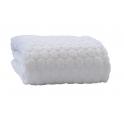 Clair De Lune Marshmallow Blanket-White