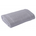Clair De Lune Cellular Pram Blanket- Grey