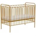 Kidsaw Kudl Kids Vintage Metal Baby Cot-Gold