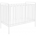 Kidsaw Kudl Kids Vintage Metal Baby Cot With FREE Foam Mattress-White