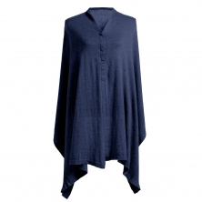 Storksak Mother's Cocoon Shawl- Navy