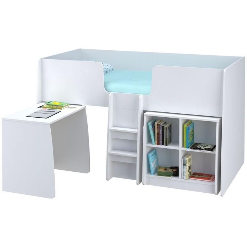 Kidsaw Loft Station Bundle-White