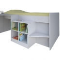 Kidsaw Loft Station Pilot Cabin Bed-White