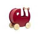 Moover Doll's Pram- Red MDF