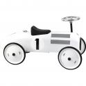 Vilac Classic Ride On Metal Car- Polar White