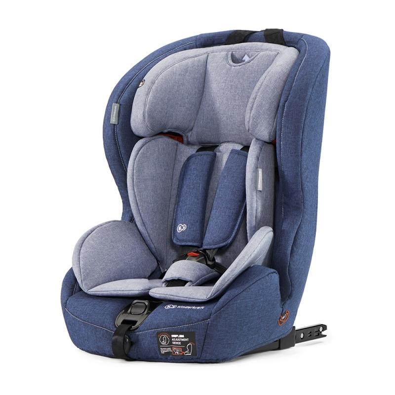 Kinderkraft Safety-Fix Car Seat with Isofix System-Navy