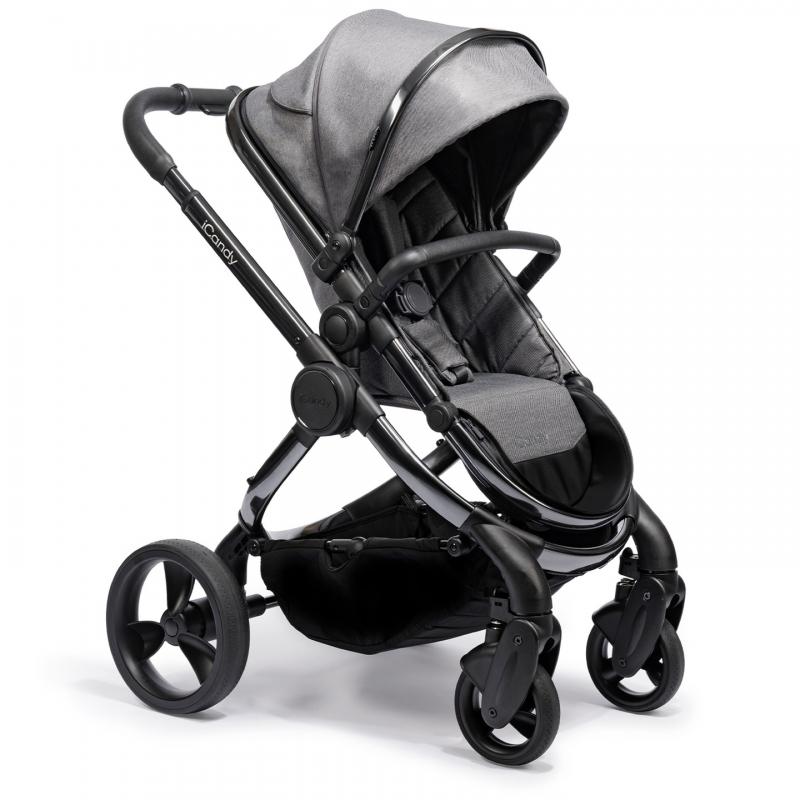 ICandy Peach Phantom Stroller-Dark Grey Twill