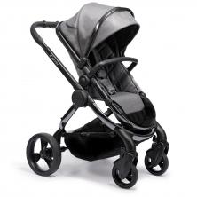 iCandy Peach Phantom Stroller + Maxi Cosi Cabriofix 0+ Car Seat-Dark Grey Twill (New 2020)