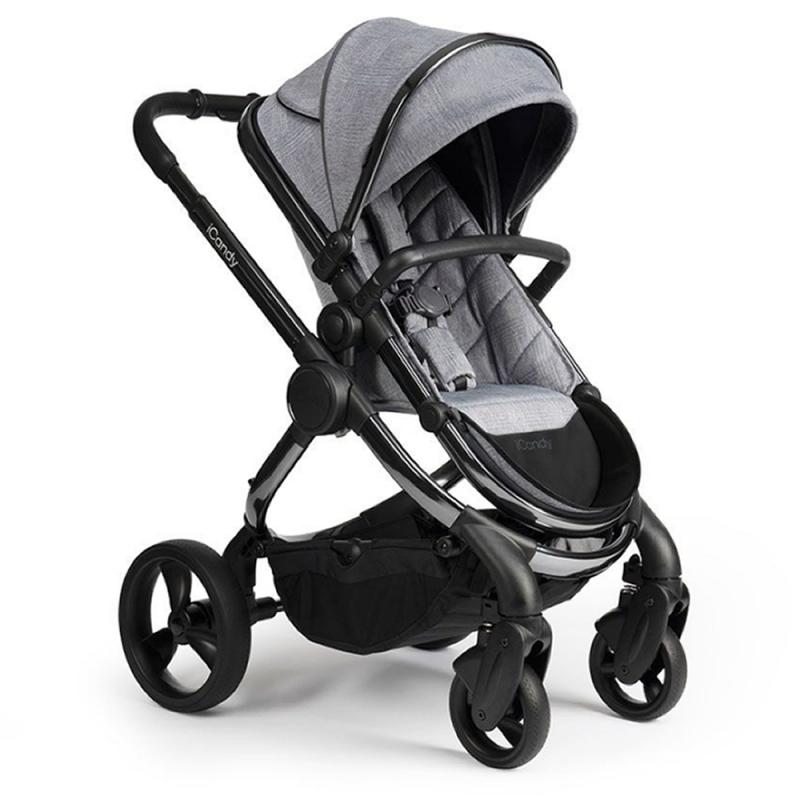 ICandy Peach Phantom Stroller-Light Grey Check
